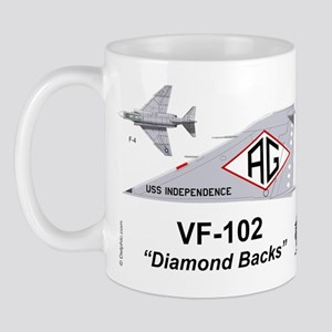 F-4 Phantom !! Vf-102 Diamond Backs Mug Mugs